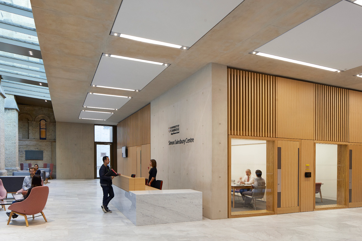 Simon Sainsbury Centre Reception