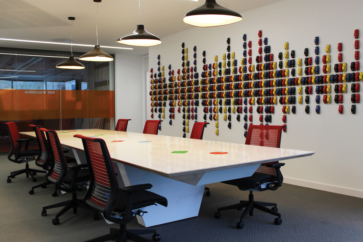 VW Financial Services Bespoke Meeting Table
